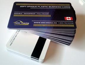 Print Plastic Business Cards  in Canada, calgary